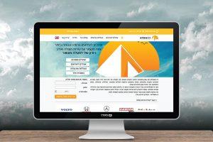 עיצוב אתר לזיו אוהלים השכרת ציוד הצללה