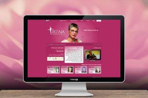 עיצוב אתר לאירזיה הרזיה בטוחה עם אירנה