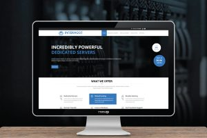 עיצוב אתר ל interhost אחסון אתרים