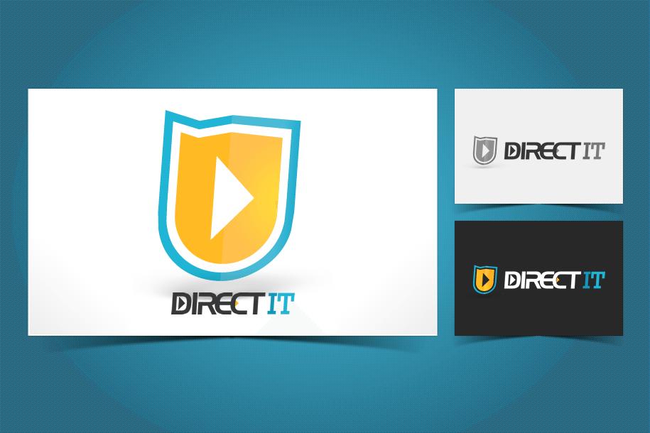 עיצוב לוגו ל Directit