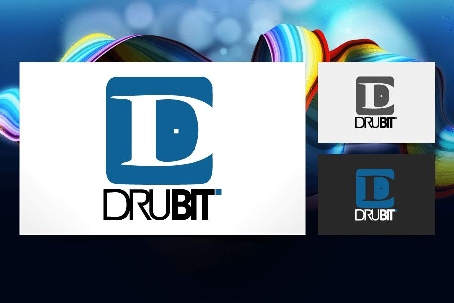 עיצוב לוגו ל Drubit בניית אתרים