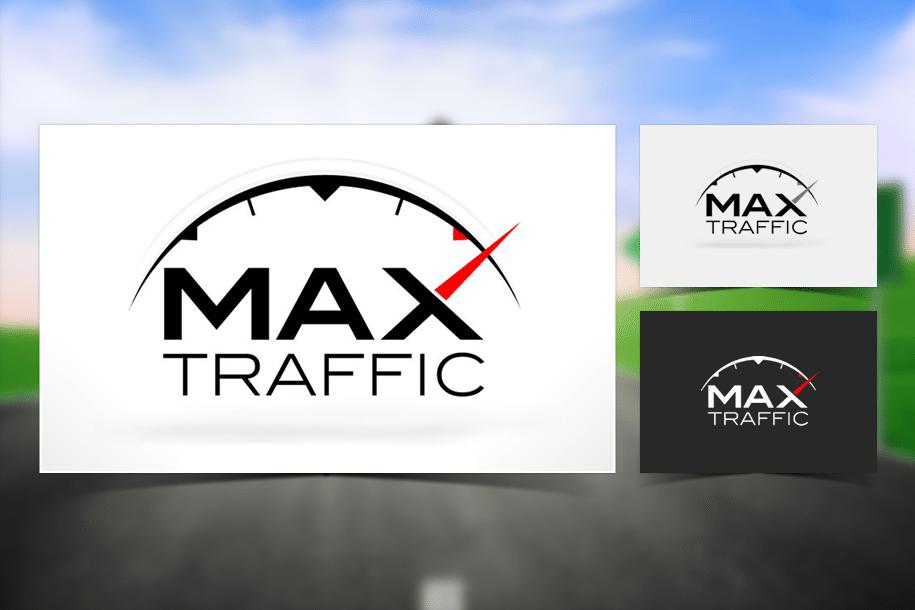 עיצוב לוגו ל Max Traffic