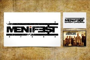 עיצוב לוגו ל Menifest להקה