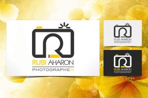 עיצוב לוגו לרובי אהרון צלם