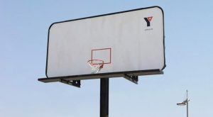 שילוט חוצות נבחרת כדורסל בקולג'