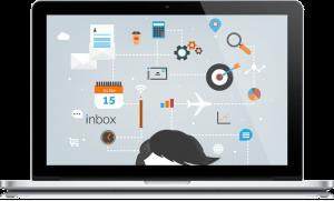 עיצוב גרפי inbox