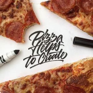 פיצה עוזרת ליצור
