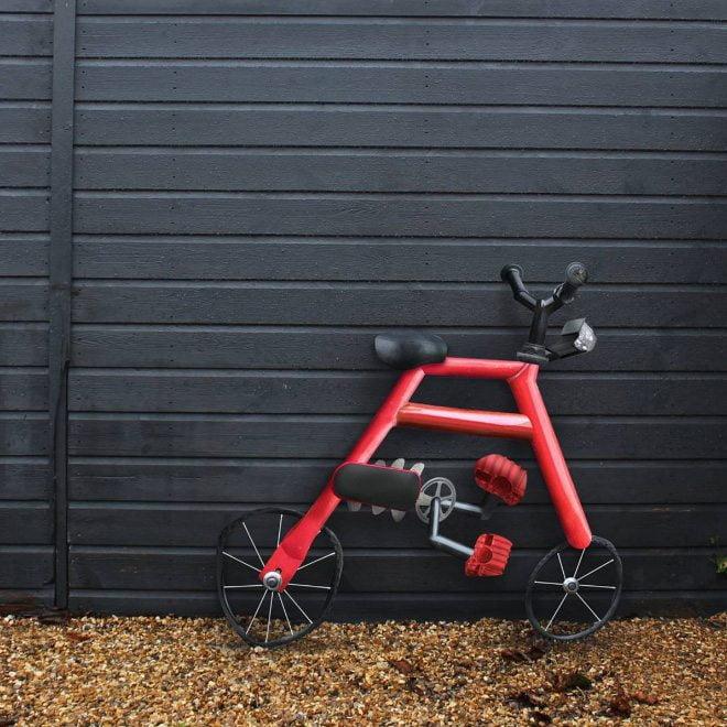 ציור של אופניים על ידי ילד בן 6